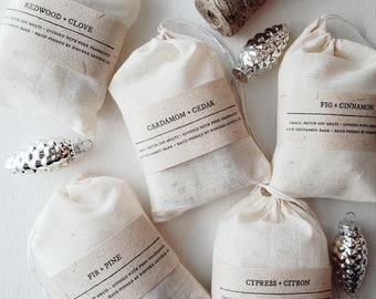 You Choose Winter Collection Scented Soy Wax Melt Collection with Essential Oils, Pure Fragrance and Dry Botanicals