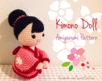 6 chibi doll base amigurumi crochet pattern for custom etsy