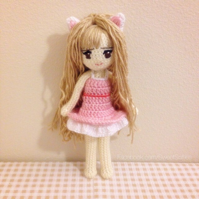 Amigurumis ganchillo muñeca patrón Anime Kiki la chica del   Etsy