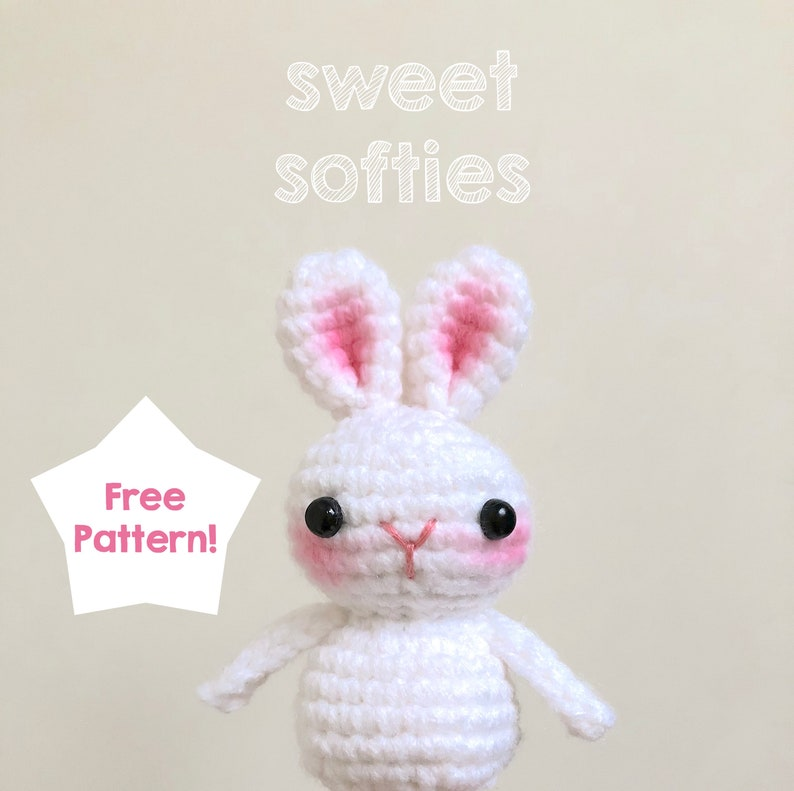 Free Amigurumi Crochet Pattern Tutorial Some Bunny To Love Etsy