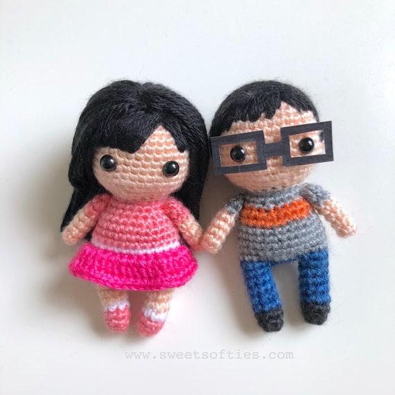 2 PACK Amigurumi Crochet Pattern Tutorial Mini Me