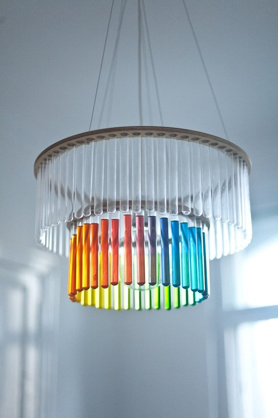 Double Test Tubes Chandelier