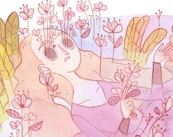 Ophelia ~ giclee print