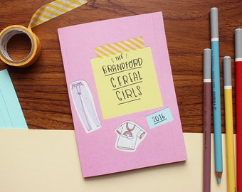 Brandford Cereal Girls ZINE ~ Frannerd