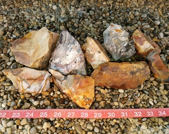Flint Lapidary rough, Flint Knapping, by the pound