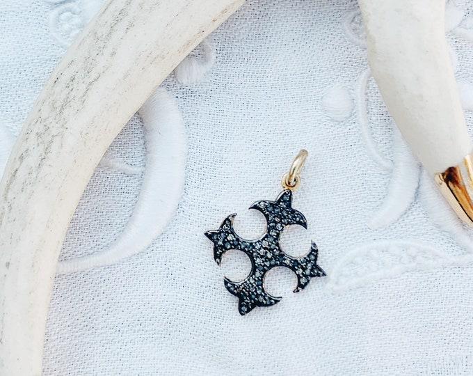 Diamond Cross Patonce Charm