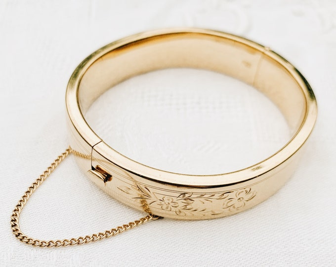 Edwardian Bangle, Gold-fill