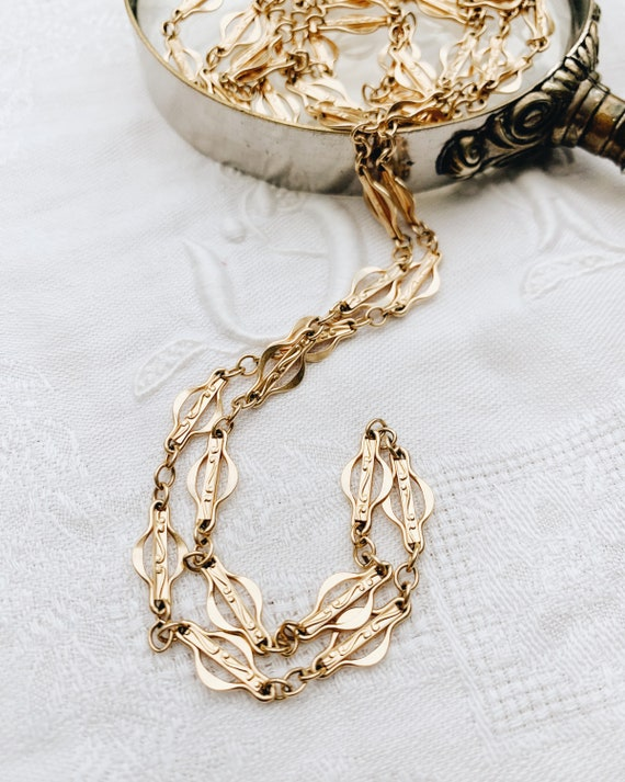 1930s French Chain Necklace