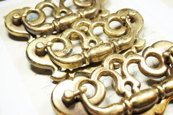 1 Vintage Bronze //BRASS Colour ESCUTCHEON KEYHOLE Door,Wardrobe,drawers Etc