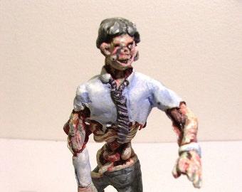 Hand-made zombie figure