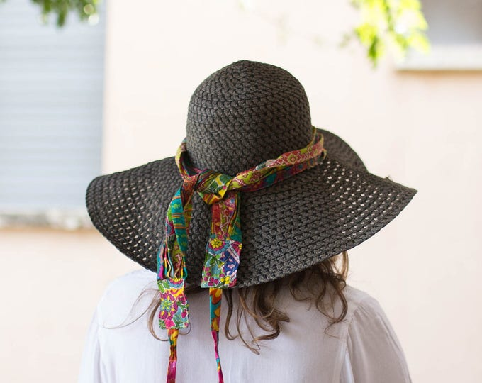 Hat Accessories, Hat Band, Boho Accessory, Festival Accessories,Cotton Hat Band, Gift For Her, Womens Hat Band, Christmas Presents