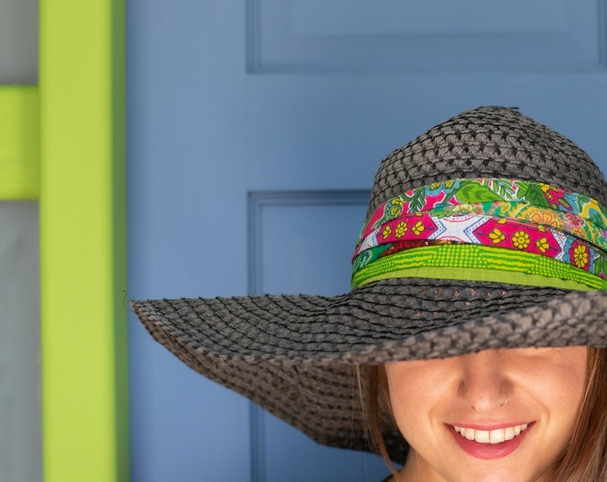 Tropical Hat accessory, Bohemian style