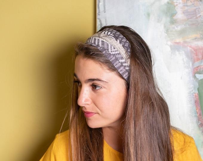 Grey Boho Fashion Headband For Women