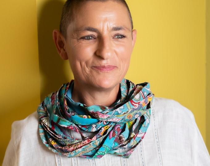Unisex circle scarf, infinity scarf