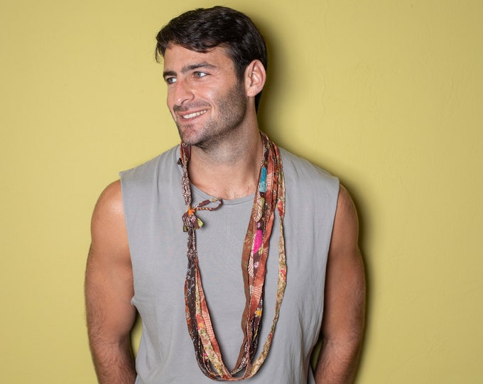 unisex skinny scarf accessory man/gay/women necklace