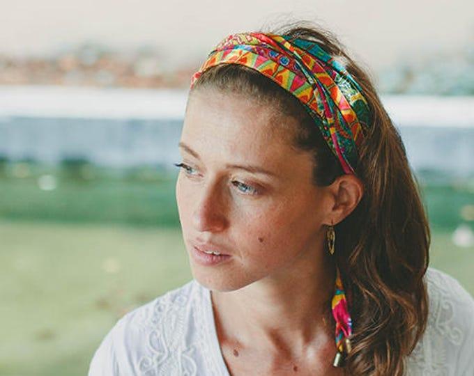 Hair Bands For Women, Bohemian Head Wrap, Boho Hair Accessories, Hippie Headband