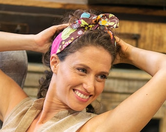 wide boho headband for women