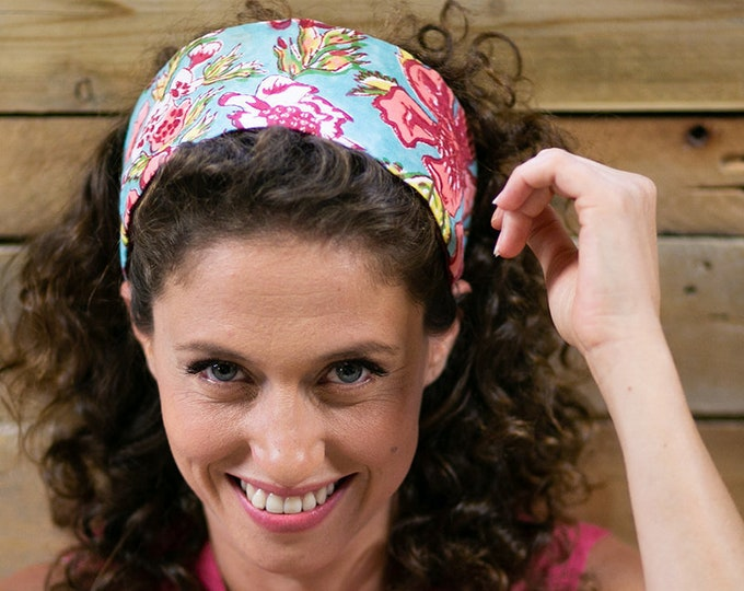 Wide headband for women and girls