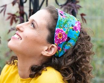 Women's wire headband, twist knot headband