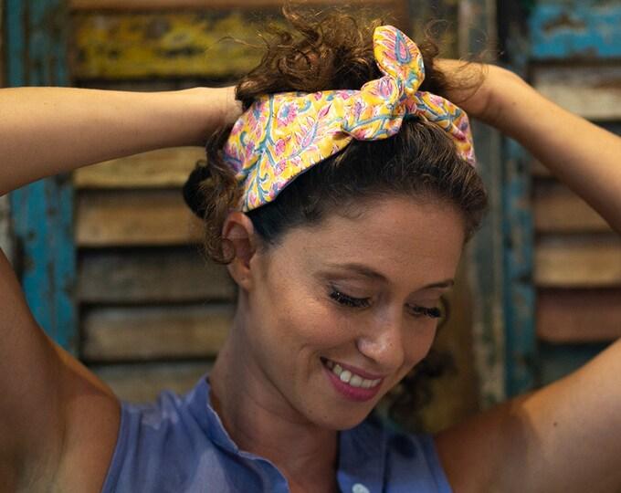 Tropical hair band, Prepp fashion