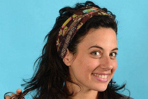 Colorful Headband Boho Head Wrap Gypsy Headband Hippie  82671d03fda