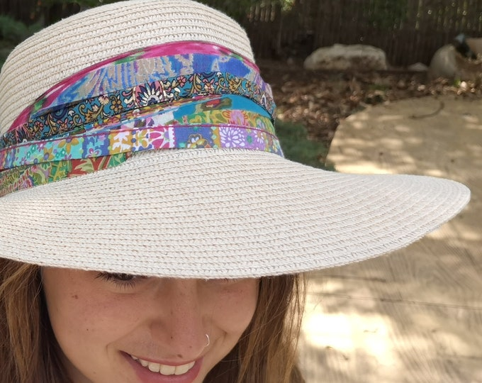Unique Boho Scarf Hat Band