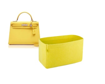 2fb4f4d9cadcb Hermes Kelly bag insert organizer purse insert with Ipad place bag  shaper