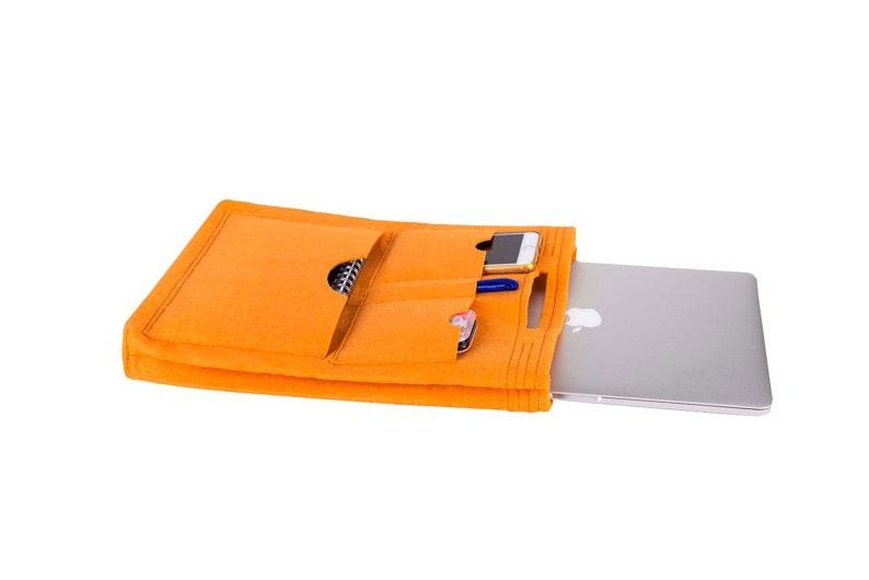 Tote Bag Organizer Laptop Organizer Felt Make Up Bag Bag image 0