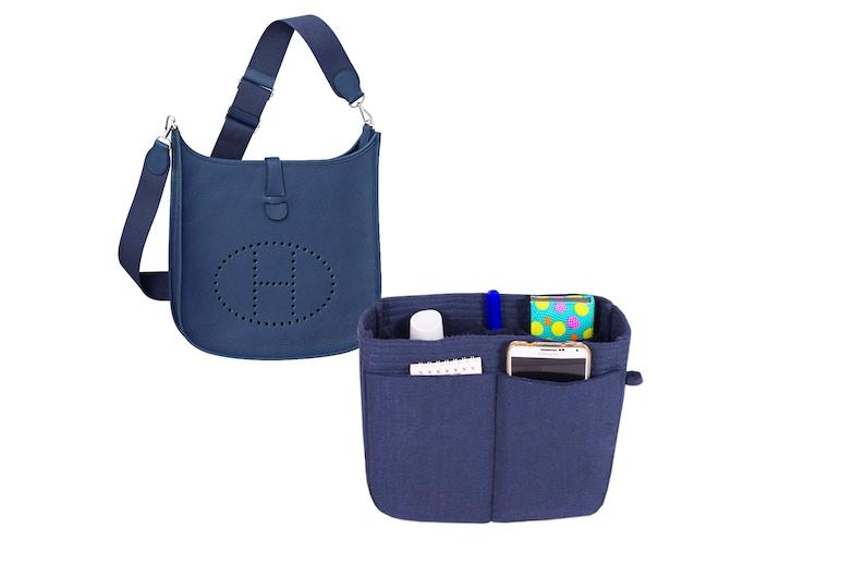 Hermes Evelyn 29 33 bag insert organizer purse insert with Ipad place bag  shape... Hermes Evelyn 29 33 bag insert organizer purse insert with Ipad  place bag ... d0653226dc4ae