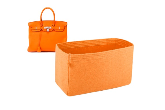 df909777dd3 Hermes birkin bag insert organizer purse insert with Ipad place bag  shape