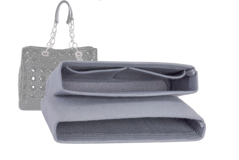 For Patent Cannage Soft Shopping Tote SET OF-2 Bag image 0