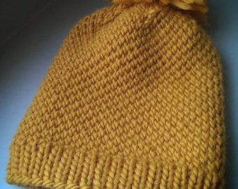 Knitting PATTERN Thick n Thermal Hat Toque Beanie