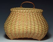 Little Miss Sunshine -hand woven basket