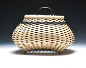 hand woven Shaker cat 39 s head wall basket in bl wal