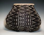 Fibonacci 18- Handwoven basket