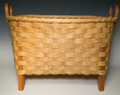 hand woven wool drying basket
