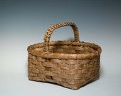 Little hand woven Appalachian market basket
