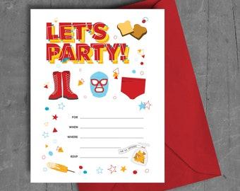 Nacho Libre Printable Party Invitation
