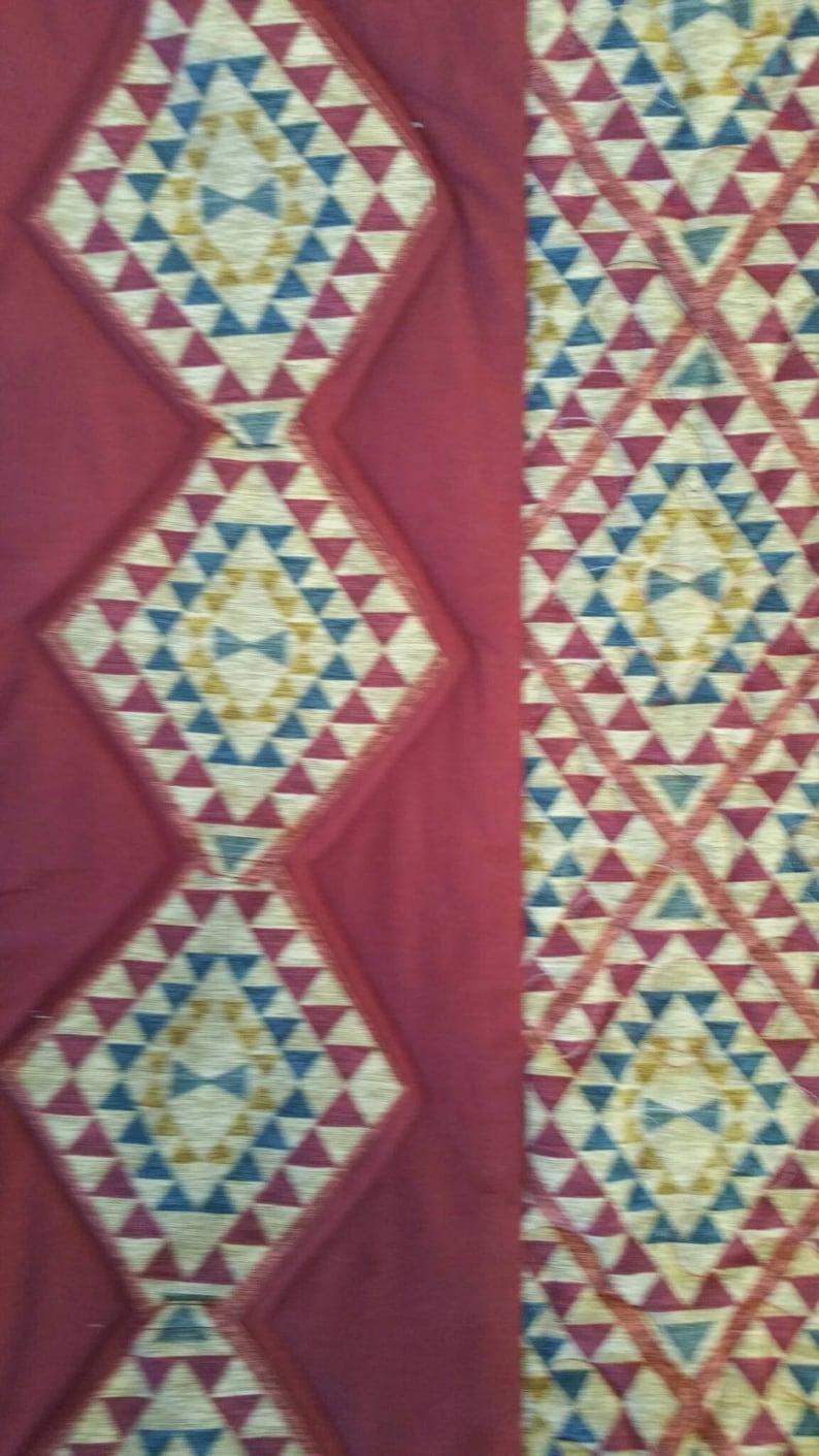 Lap Quilt Furniture Decor Pattern Quilt Triangle Pattern Quilt