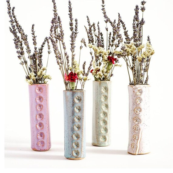 Bud Vase Flower Vase Small Vase Toothbrush Holder Etsy
