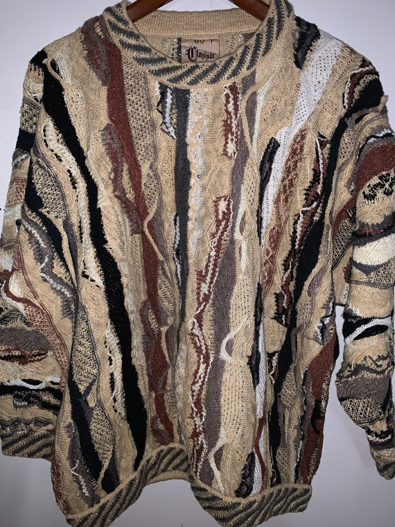 Vintage 90s Coogi Sweater, Biggie Smalls sweater ,