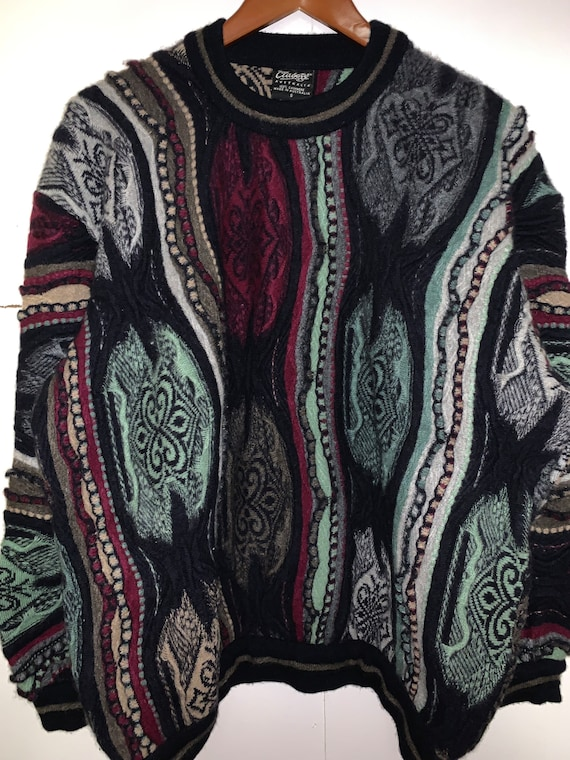 Vintage 90s Coogi Cashmere Sweater, Coogi Cashmere