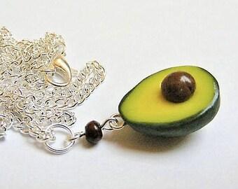 45981fd929825 Avocado necklace | Etsy