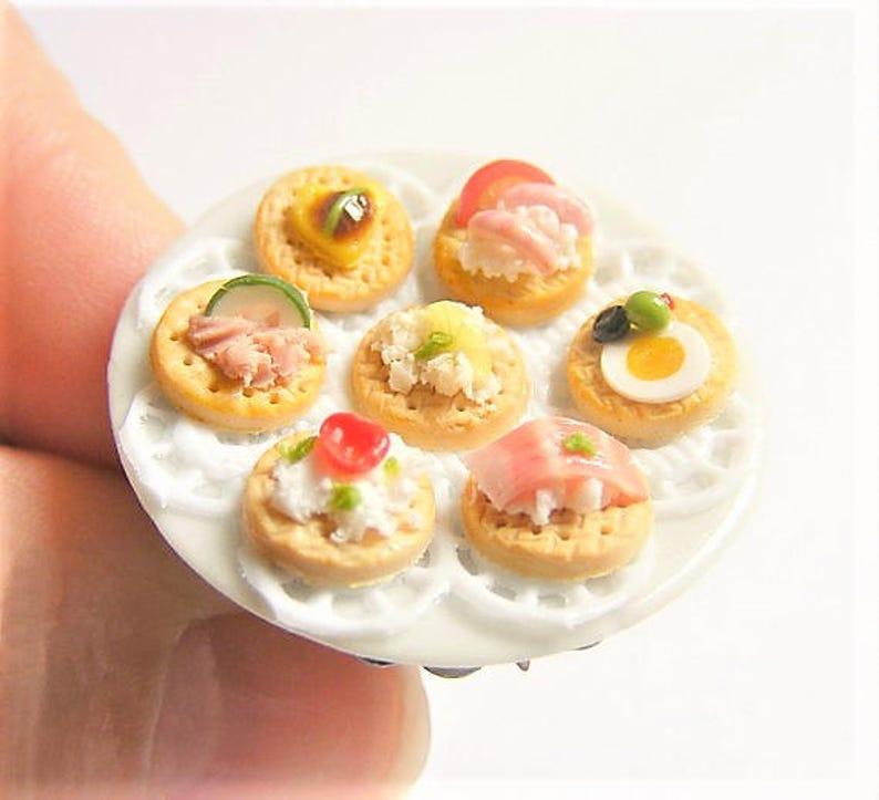 Miniaturowe kanapki