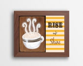 Rise and Shine Printable Wall Art Quote Instant Download