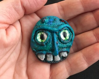 Monster Sculpture, Creature Design, Sculpture, Zombie, Monster, Polymer Clay, Creature, Fantasy Art, SciFi