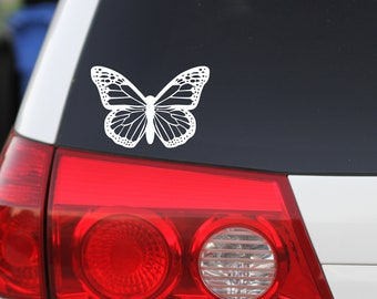 Butterfly sticker, Butterfly Decal, Car Sticker, Car Decal, Vinyl Decals, Butterfly Art, Butterfly Lover, Monarch Butterfly