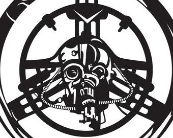 "8"" Vinyl Sticker, WarBoys, Mad Max, Fury Road, Halloween, Sci Fi, DECAL, Fan Art, Horror,"