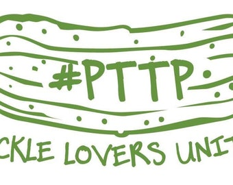 Pickle Lovers Unite! Decal, Pickle Sticker