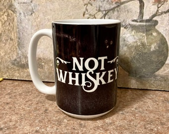 Cheeky Coffee Quote, Sarcastic Gift, Funny Gift, Coffee Mug, Funny Mug, Gift for Coffee Lover, Coffee Mug, Whiskey Gift, Whiskey Lover